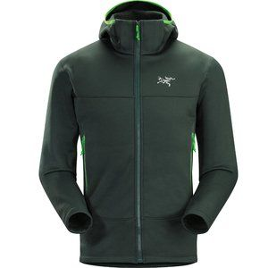 New ARC'TERYX Green Arenite Hoody Fleece Medium